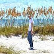 Cool On Anna Maria Island Poster