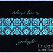 Always Kiss Me Goodnight Stars Poster