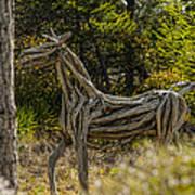 Alys Beach Driftwood Horse Poster