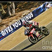 Ama Superbike Cory West Poster