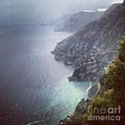 Amalfi Coast And Beyond Poster by H Hoffman
