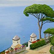 Amalfi Coast From Ravello Poster