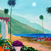 Amalfi Colors Poster