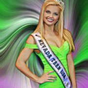 Amanda Jenkins Nevada Teen Usa Poster
