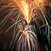 Amazing Fireworks Poster