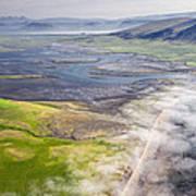 Amazing Iceland Landscape Poster