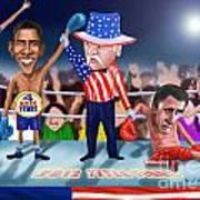 America Wins Poster by Fred Makubuya