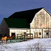 American Barn Poster