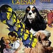 American Cocker Spaniel Art - Julius Caesar Movie Poster Poster