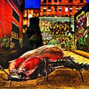 American Cockroach Poster by Bob Orsillo