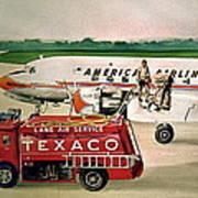 American Dc-6 At Columbus Poster
