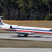 American Eagle ERJ-145LR Poster