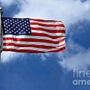 American Flag Poster by Amy Cicconi