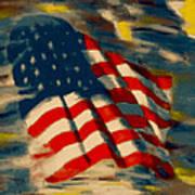 American Flag Poster by Patrick McClellan