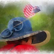 American Flag Photo Art 05 Poster