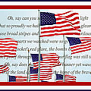 American Flag Tribute  Poster