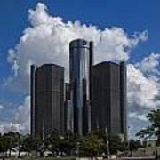 The Detroit Renaissance Center  Poster