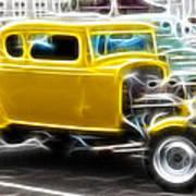 American Grafitti Coupe Poster