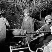 American Gunners Load A Shell Poster