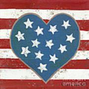 American Love Poster by Kristi L Randall