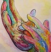 American Sign Language Jesus Poster