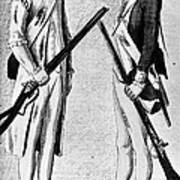 American Uniforms, 1784 Poster