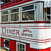 Americana Classic Dinner Booth Service Poster