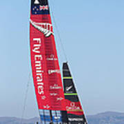 America's Cup Emirates Team New Zealand Poster