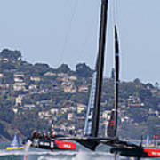 America's Cup Oracle 2013 Poster by Steven Lapkin