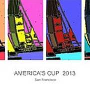 America's Cup Poster 3 Poster