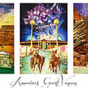 America's Great Venues Poster by Joshua Morton