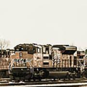 America's Railway Poster