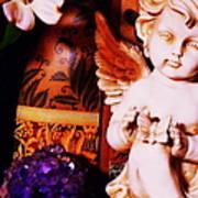 Amethyst Angel Poster