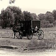 Amish Buggy Sept 2013 Poster