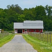 Amish Farm Poster