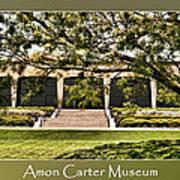 Amon Carter Museum Poster