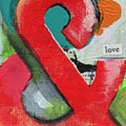 Ampersand Love Poster