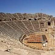 Amphitheatre In Side Turkey Poster