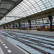 Amsterdam Central Station Poster