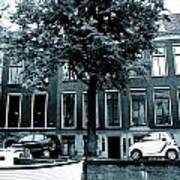 Amsterdam Electric Car Poster