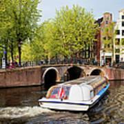 Amsterdam In Spring Poster