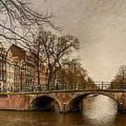 Amsterdam Panorama Poster