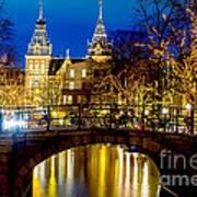 Amsterdam-rijkmuseum Poster