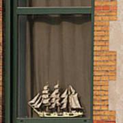 Amsterdam Window  #6 Poster