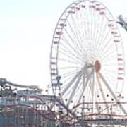 Amusement Rides At Wildwood Nj Poster