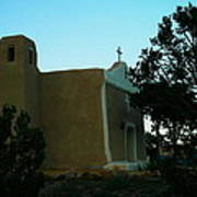 An Adobe Church In New Mexico Poster