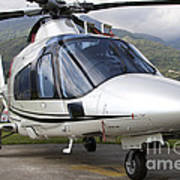 An Agustawestland A109 Power Elite Poster