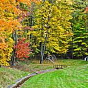 An Autumn Childhood Poster