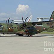 An Eads Casa C-295 Aircraft Poster