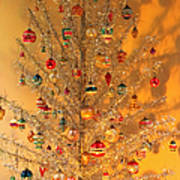 An Old Fashioned Christmas - Aluminum Tree Poster
